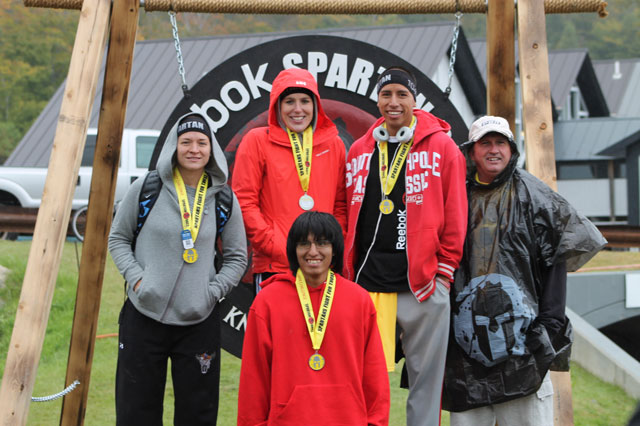 Our runners at the Spartan Race