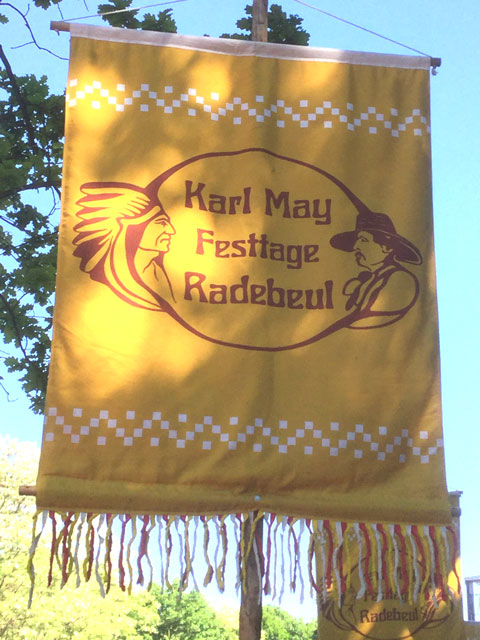 Flagge Karl-May-Fest